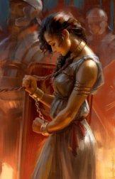 Zenobia captured by Aurelian, 274