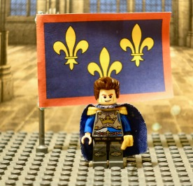 Charles of Anjou, King of Sicily (r. 1266-1285) Lego figure