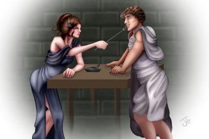 Caenis and Vespasian