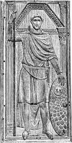 Flavius Aetius, Goth general of the Western Roman Empire