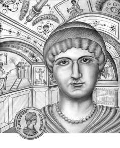 Flavia Julia Constantia, half-sister of Constantine I and wife of Licinius