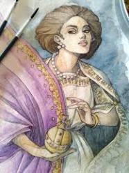 Empress Galla Placidia of the Western Roman Empire