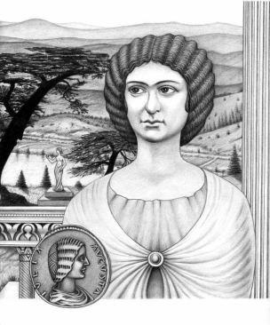 Empress Julia Domna, wife of Septimius Severus