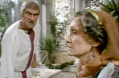 Livia and Tiberius in I, Claudius