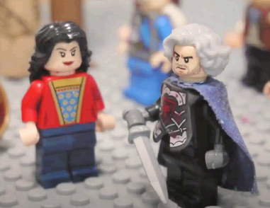 """Lego Empress Theophano and Nikephoros Phokas from """"The Rise of Phokas"""""""