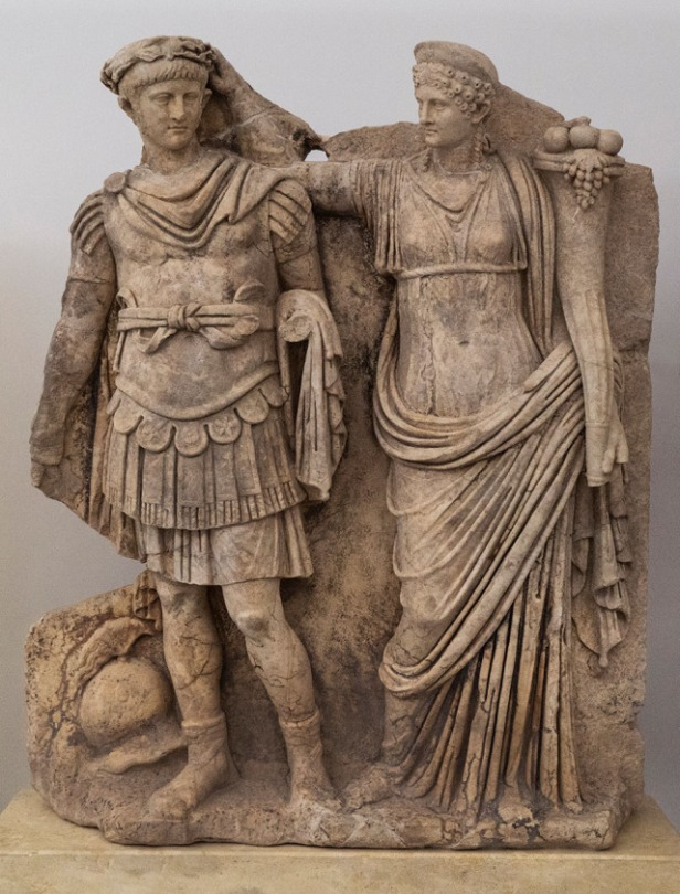 Agrippina the Younger and her son Nero