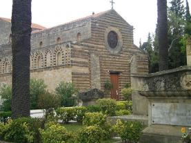 Church of the Holy Spirit, Panormos (Palermo), beginning site of the Sicilian Vespers