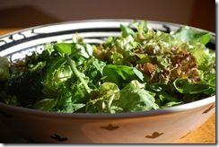 Byzantine Greek salad recreated