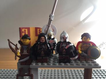 Alexios (hooded) and his Byzantine strike team in Sicily, 1282