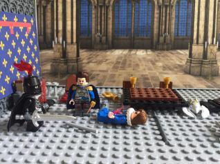 Charles of Anjou kills Jean Clovis
