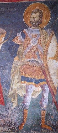 Fresco of possibly General Alexios