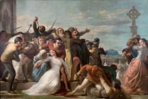 Sicilian Vespers painting