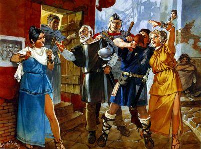 Byzantine (Late Roman) tavern life
