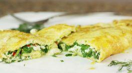 Modern Greek omelet
