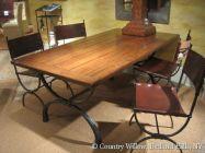 Common Roman dining table