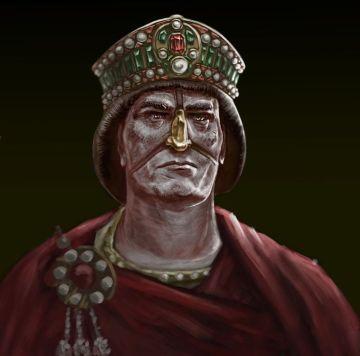 Emperor Justinian II the slit-Nose (r. 685-695/ 705-711)