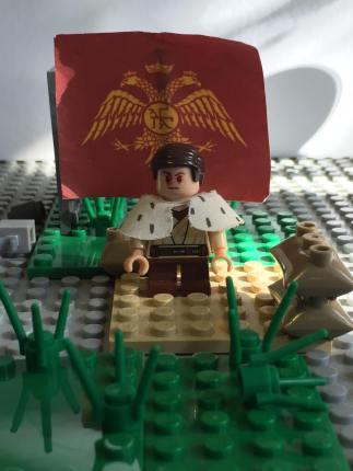 A blinded boy emperor John IV Laskaris