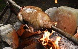 Byzantine style roasting