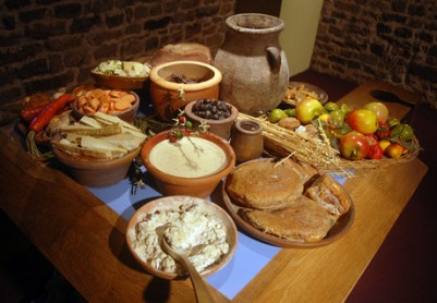 Common Roman people's meal