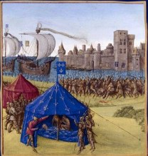 King Louis IX real death in Tunis, 1270