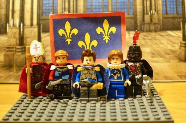 Lego Charles of Anjou and his 4 generals