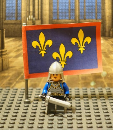 Robert, French soldier Lego figure