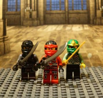Lego Ninjago figures as North African Moor army