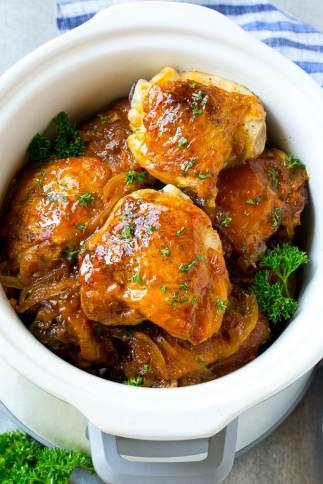 Chicken in nectar sauce