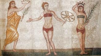 Roman mosaics in Sicily