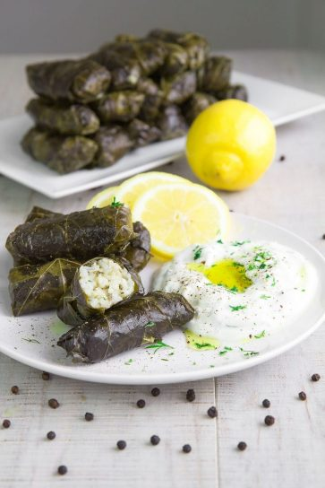 Greek Dolmades, from Ottoman influence
