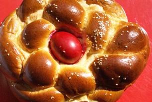 Byzantine Easter bread