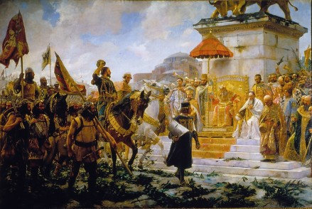 Catalan Grand Company arrives in Constantinople, 1302