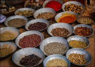 Exotic spices from the east