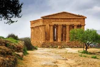 Greek ruins in Sicily