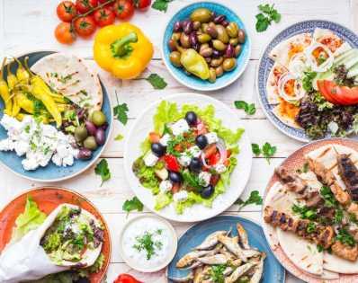 Modern Greek cuisine
