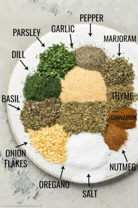 Basic Greek (Byzantine) spices and herbs