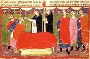 Real life death of Charles of Anjou, 1285