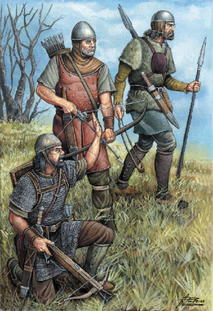 Catalan Grand Company soldiers