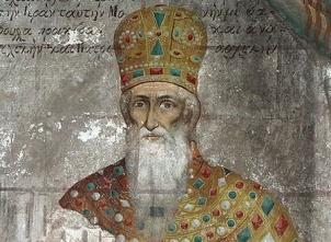 Emperor Andronikos II Palaiologos (r. 1282-1328) as an old man