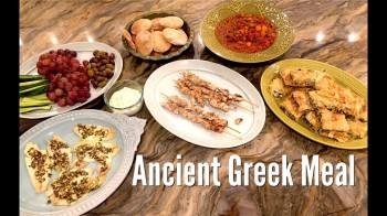 Simple Ancient Greek meal
