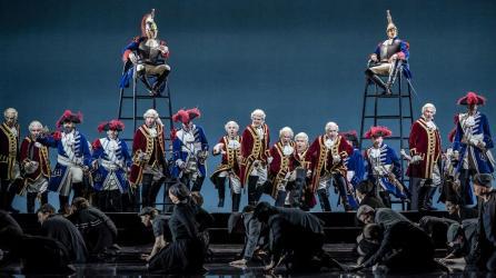 Sicilian Vespers opera on stage