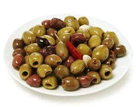 Byzantine Greek spiced olives