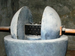Roman olive press (Trapetum)