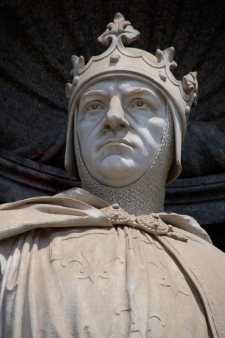 Statue of King Charles I of Sicily (Charles of Anjou)