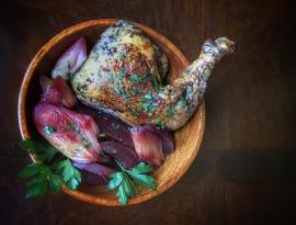 Apicius' Parthian chicken