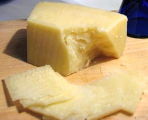 Roman sheep cheese (Pecorino Romano)