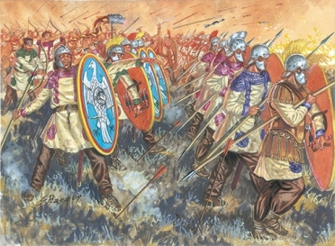 Justinian I's Gothic War in Italy, 530s-550s