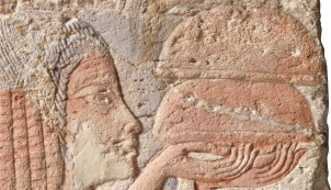Egyptian relief of bread