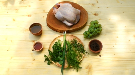 Recipe for Ancient Roman roast chicken