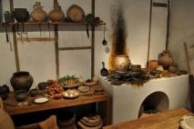Wealthy Roman kitchen